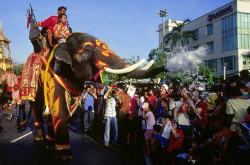 Vodní festival Songkran