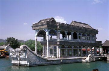 Mramorová loď v císařském Letním paláci