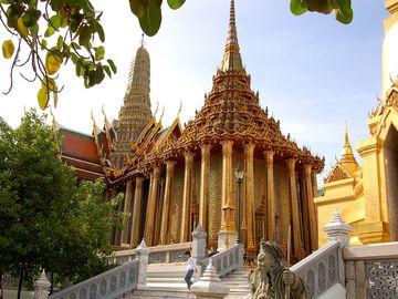 Wat Pho, chrám Ležícího Buddhy