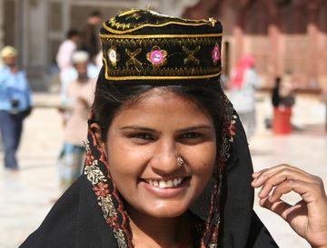 Krásná indická muslimka