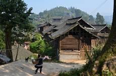 Mizející vesničky provincie Guizhou
