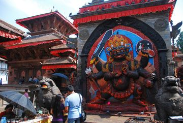 Káthmándú – Černý Bhairava