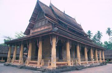 Vientiane - chrám Vat Si Saket