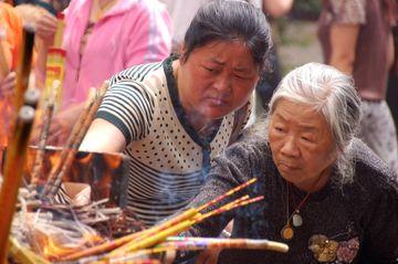 Ženy v chrámu